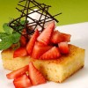 Strawberry Shortcake with Lemon Cornbread Recipe