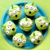 Toy Story Green Alien Cupcakes Recipe