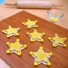 Woody Sheriff Badge Cookies Recipe