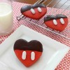Mickeys Chocolate Dipped Valentines Cookies Recipe