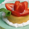 Strawberry Rose Shortcake Recipe