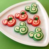 Mickey and Minnie Peppermint Swirl Cookies Recipe