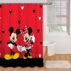 Disney Mickey and Minnie Shower Curtain