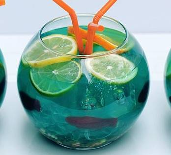 Fishbowl punch recipe disney recipes for Fish bowl drink