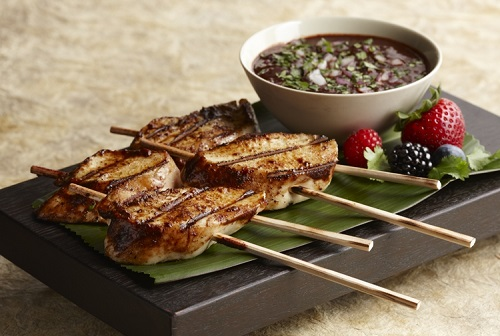Mixed Berry Barbecue Chicken Skewers Recipe - Disney Recipes