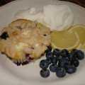 Blueberry Cheese Buckle